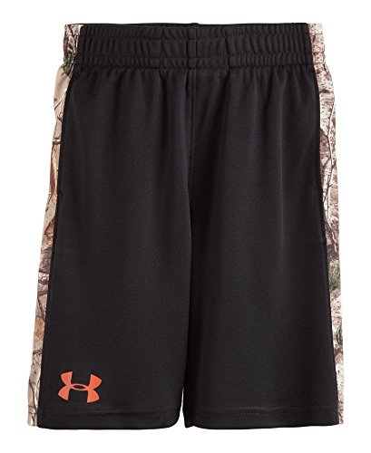 Under Armour Little Boys' Real Tree Ultimate Short, Black, 4T