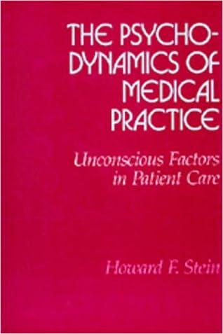 The Psychodynamics of Medical Practice: Unconscious Factors in Patient Care