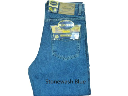 Blue Circle New Mens Basic Work Jeans In Three Colour BNWT Sizes 28 To 60 (W38 34