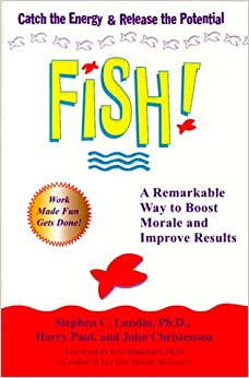 Fish a remarkable way to boost morale and improve results for Fishpond books