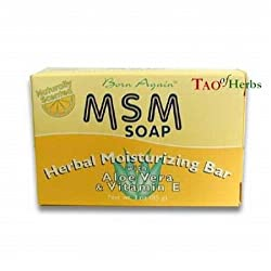 MSM Soap - Herbal Moisturizing Bar - 3 oz
