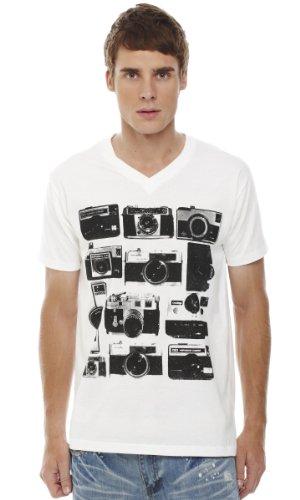 Retreez Vintage Cameras Printed Men's T-shirt