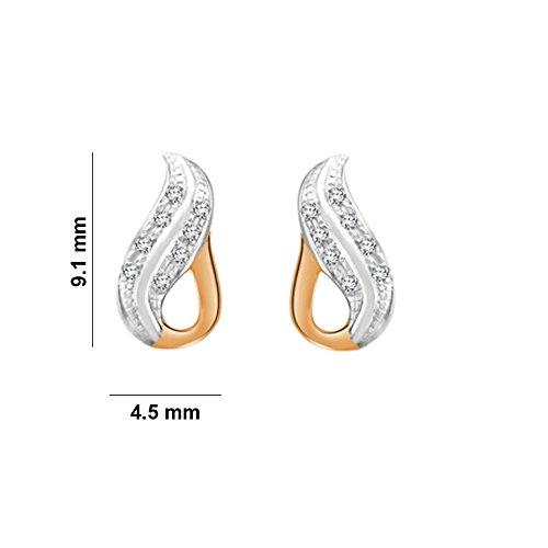 37f7f5640 74% OFF on His & Her Diamonds .925 Sterling Silver and Diamond Stud Earrings  on Amazon | PaisaWapas.com