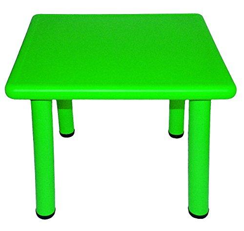 Kindertisch-GRN-fr-INNEN-AUEN-Kindermbel-fr-Mdchen-Jungen-Tisch-Tische-Kinderzimmer-Plastiktisch-Kinder-Gartenmbel-Plastik-Kunststoff-Metall