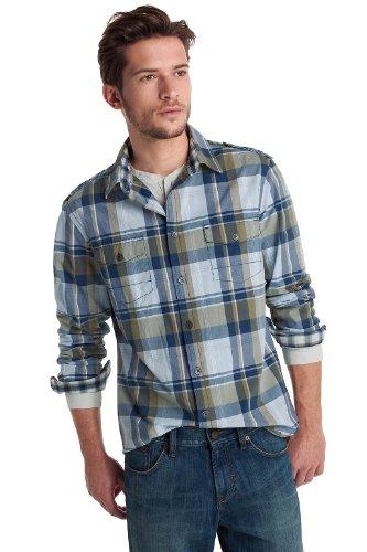 Esprit Men's Casual Shirt Dried Herb  XXL