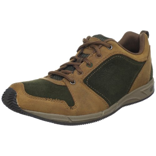 Keen Men's P-Town Lace-Up,Dark Earth/Forest Night,10.5 M US