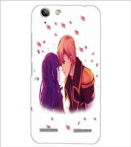 PrintDhaba Couple D-4700 Back Case Cover for LENOVO A6020a46 (Multi-Coloured)