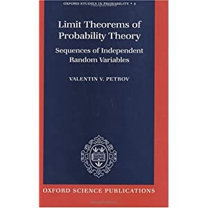 Amazon.com: Limit Theorems of Probability Theory: Sequences of ...