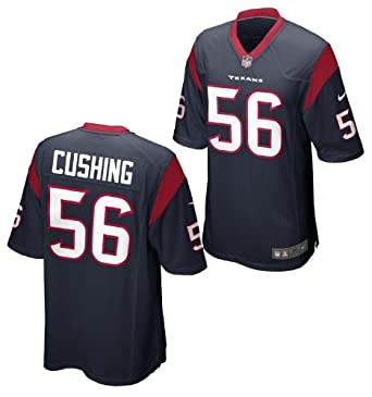 Nike NFL Kids Houston Texans BRIAN CUSHING # 56 Game Jersey, Navy by Nike
