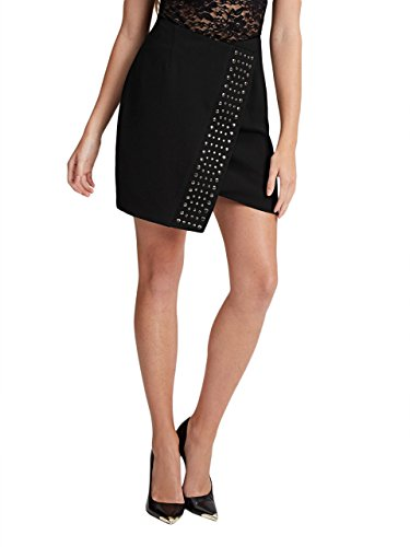 GUESS Women's Studded Wrap Skirt