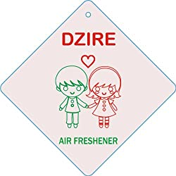 Edelcrafts Car Home Office Paper Hanging Dzire Air Freshener (Pack of 2) - FREE SHIPPING