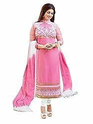 Ayesha Takiya Pink Cotton Salwar Kameez