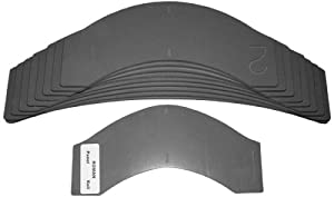 Woodline usa wl apr 10 piece roman profile arch panel for Raised panel door templates