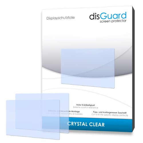 2 x disGuard Crystal Clear Displayschutzfolie