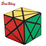 OnceAll DS 3x3x3 Unique Fairy Stone Shape Rubik's Magic Cube Puzzle Toy Black
