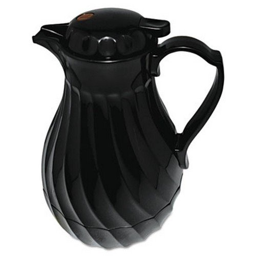 poly-lined-carafe-swirl-design-64-oz-capacity-black