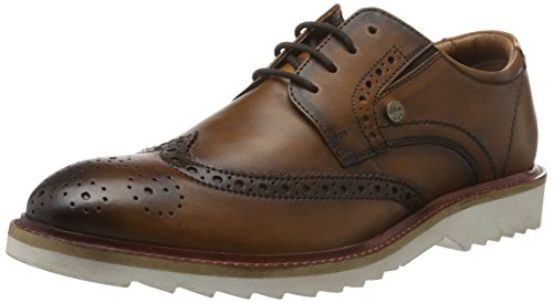 s.Oliver 13608, Brogue Uomo, Marrone (Tan 309), 41 EU