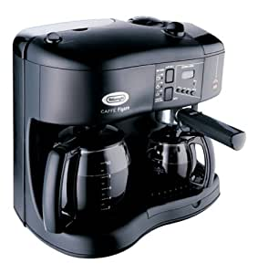 DeLonghi BCO110 Caffe Figaro Espresso, Cappuccino, and Coffee Bar
