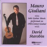 Giuliani: Solo Guitar Music performed on 19th Century Guitar