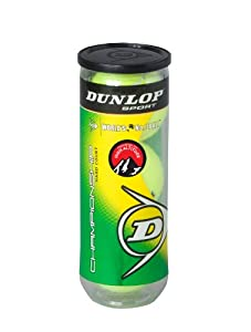 Buy Dunlop Sports Sha Championship High Altitude 3 Tennis Ball In Can by Dunlop Sports