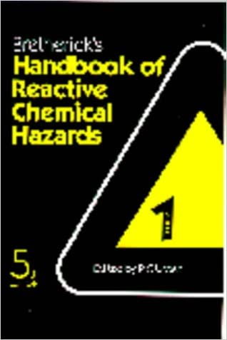 Bretherick's Handbook of Reactive Chemical Hazards, Fifth Edition: An indexed guide to published data (5th ed. 2 Vol Set)