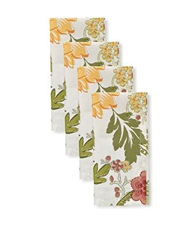 Split P Set of 4 Flora Napkins