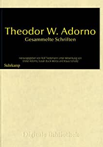 Adorno's thesis is that there is