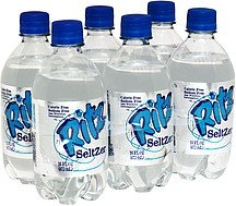 Seltzer Water Bottle front-642500