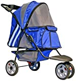 Blue Zephyr Cat & Small Dog Jogging Stroller
