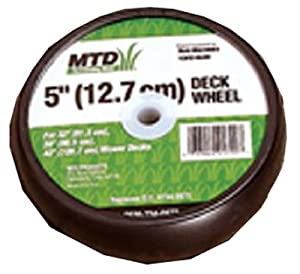 Arnold OEM-734-0973 5-Inch Deck Lawn Mower Wheel from Arnold