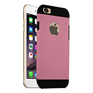 Digione Hybrid iphone 6 6s Tough Military Armor Slim Armor Kickstand back cover case for Apple iphone 6 6s (Pink)
