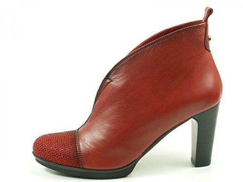 Hispanitas Amberes HI63891 Stivaletti donna , schuhgröße_1:40 EU;Farbe:rouge