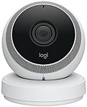 Logi Circle - Cámara de seguridad doméstica portátil Wi-fi