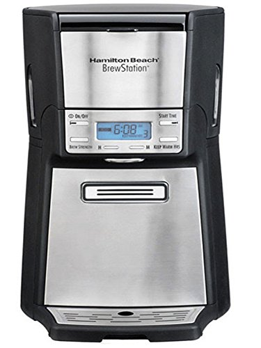 Brewstation Summit Ultra 12 Cup Programmable Coffee Maker- Automatic Machines- Metal and Plastic Material- Basket Filter Type- Auto Shutoof and Dishwasher Safe- Premium Quality Product- Easy to Care (Hamilton Beach Brewstation Basket compare prices)