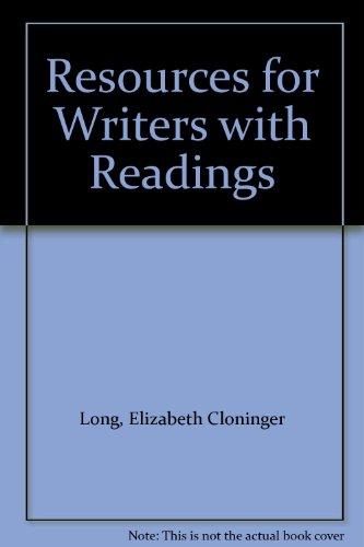 Resources for Writers with Readings