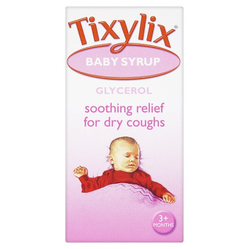 Tixylix Baby Cough Mixture Syrup 100ml