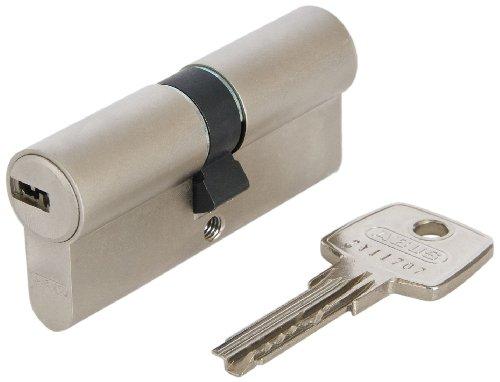 Abus 483028 Profilzylinder D6XNP B/SB mit Codekarte und 5 Schlüsseln, 40/40, nickel pearl thumbnail