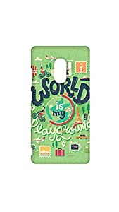 The World Is My Play Ground Mobile Case/Cover For Lenovo K4 Note