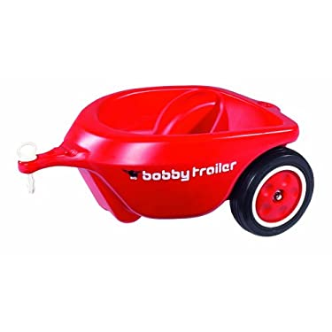 Huge Bobby Car Trailer Red Ride On Accessory