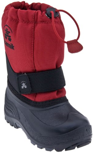 Kamik Rocket Snow Boot, Red youth size 2