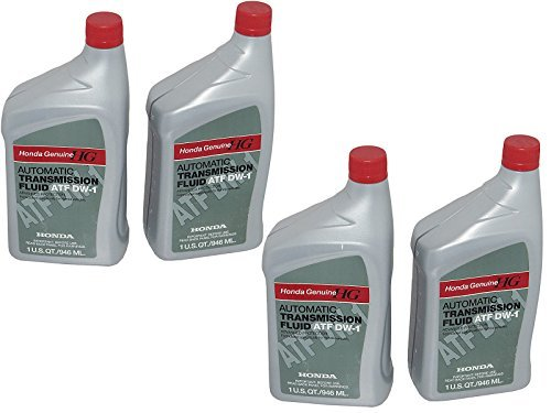 4 QUARTS Genuine Honda 08200-9008 Automatic Transmission Fluid ATF DW-1, ATF-Z1 (Honda Odyssey 2002 Transmission compare prices)