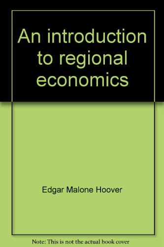 An Introduction to Regional Economics