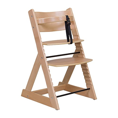 笑顔のダイニングベビー椅子 木製子供用チェア 【マジカル】 ナチュラル