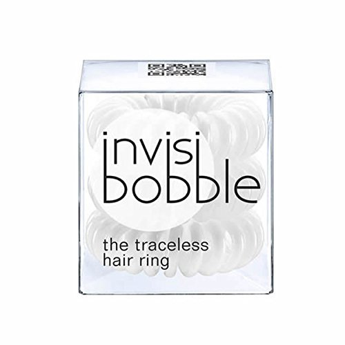 Innocent White Regular Invisibobble Tangle Teezer