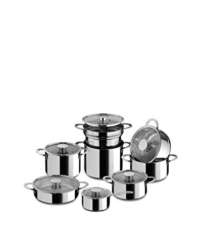 Mepra Gourmet 14-Piece Cookware Set