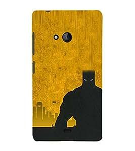 EPICCASE bat man Mobile Back Case Cover For Nokia Lumia 540 (Designer Case)