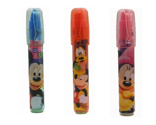 Disney Mickey and Minnie Erasers (3 Ct)