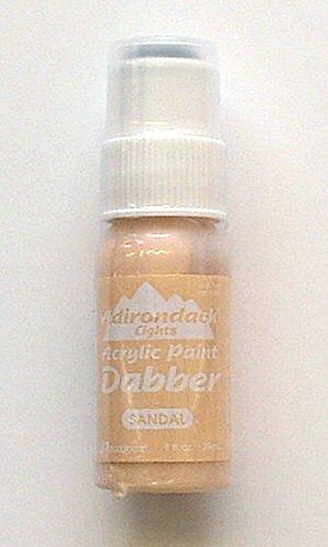 Ranger Adirondack Paint Dabbers 1 Ounce Bottle, Lights/Sandal