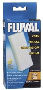 Fluval 104/105 Foam Filter Block - 2-Pack