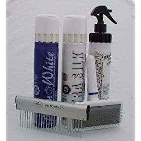 Samoyed Coat Care Grooming Kit FREE BONUS